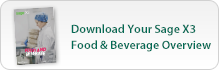 Sage ERP X3 Food and Beverage Guide